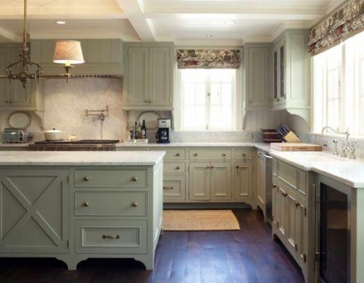 20 Amazingly Stylish Painted Kitchen Cabinets