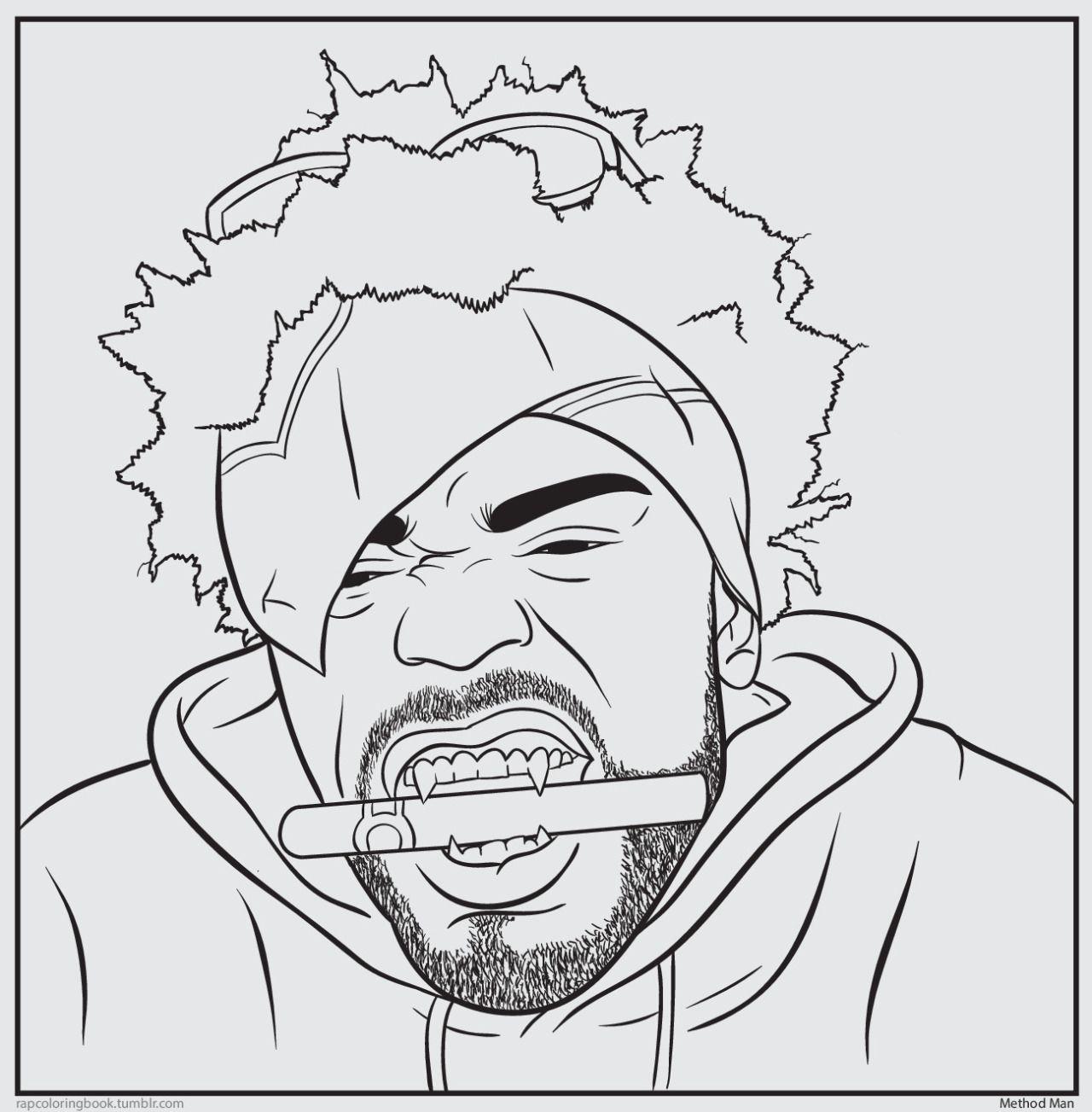 Bun B S Jumbo Coloring And Rap Activity Tumblr