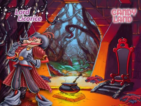 Image result for licorice castle candyland