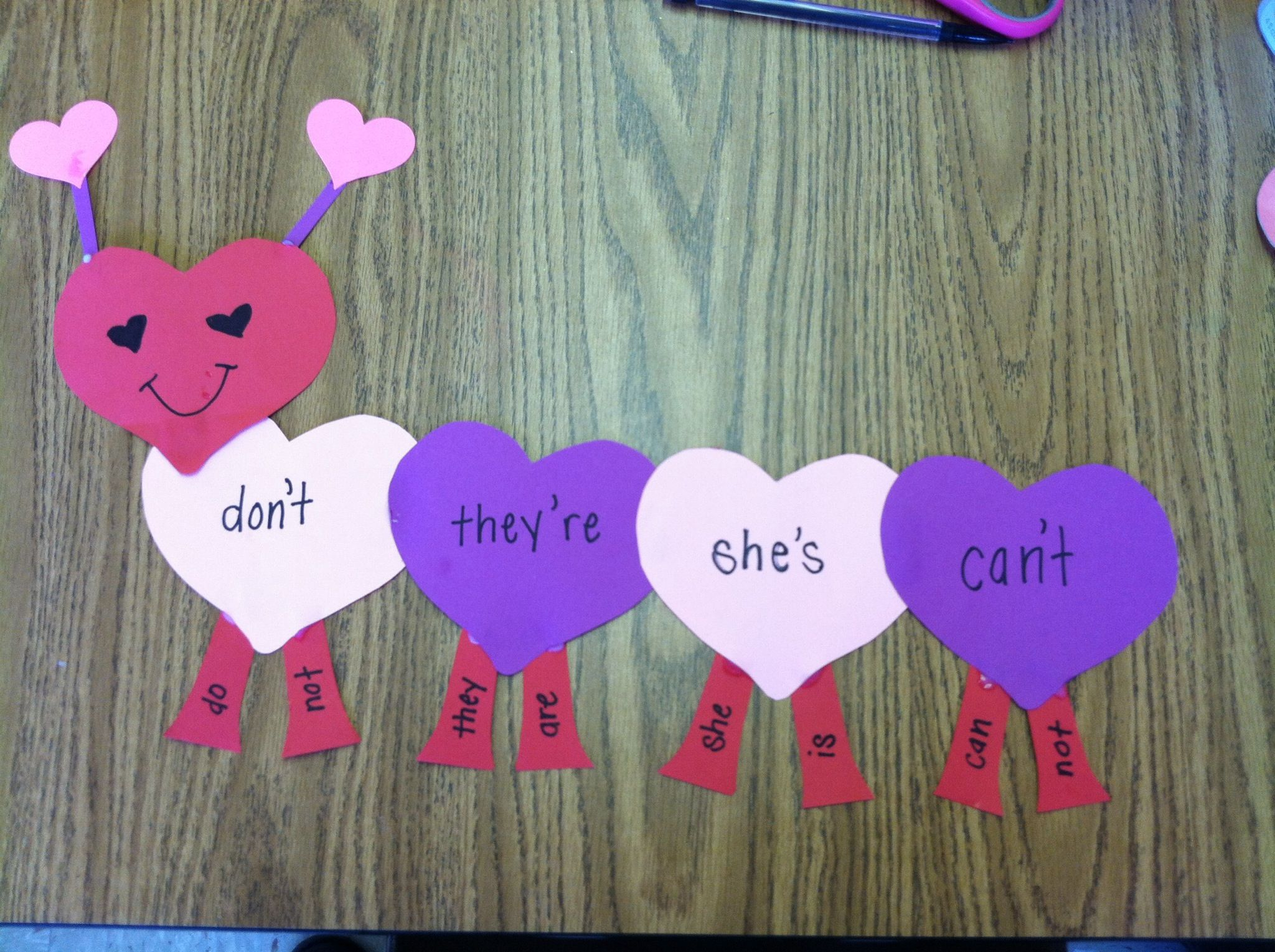 Valentines Day Contraction Love Bug