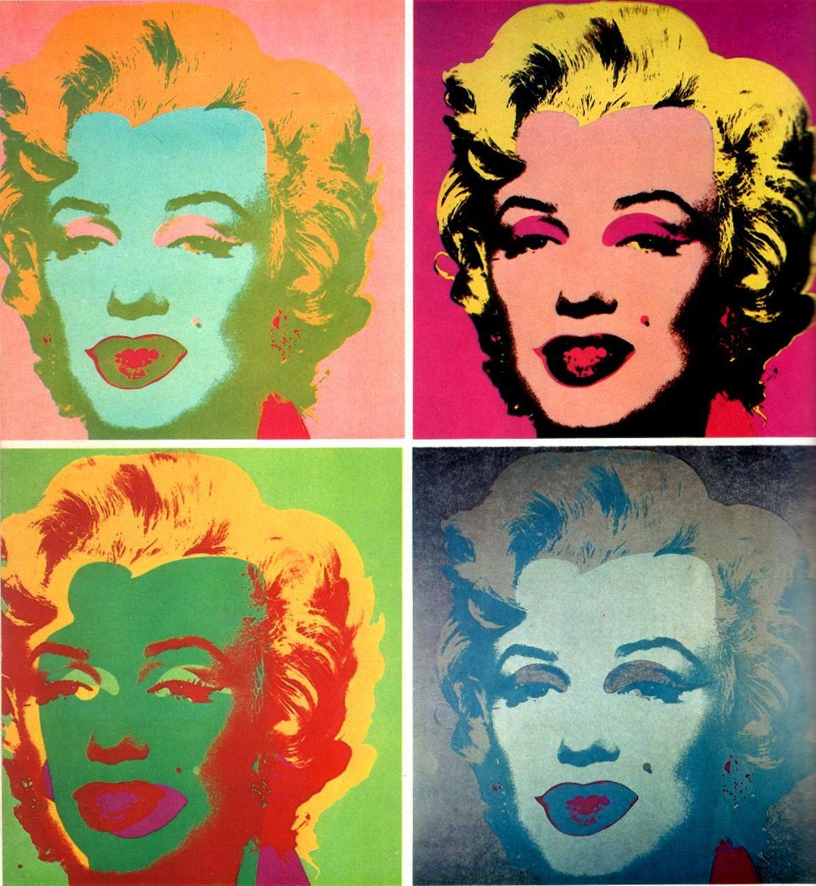 Teen Themes Pop Art Self Portraits Grades 7 12