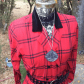 Wool cashmere flannel jacket  Vintage LANZ Holiday Plaid Flannel Shirt Dress  The ucChristmas