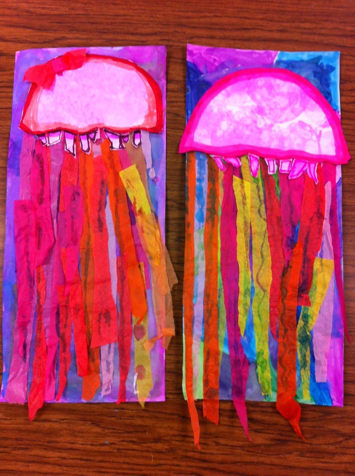 Drip Drip Splatter Splash Bubbles And Jellyfish