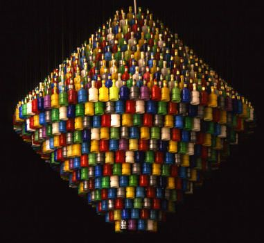 Crazy Chandeliers 10 Made From Recycled Materials