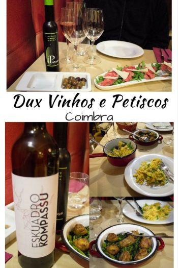 3dbae1c572ae951e4f3cce3f2636fc67 Petiscando no Dux Vinhos e Petiscos   Coimbra