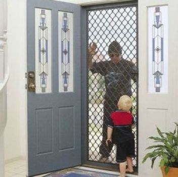 Image result for image of security at a door