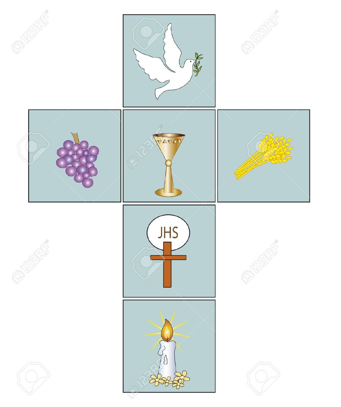 Cross Stock Photo Communion Baptism First
