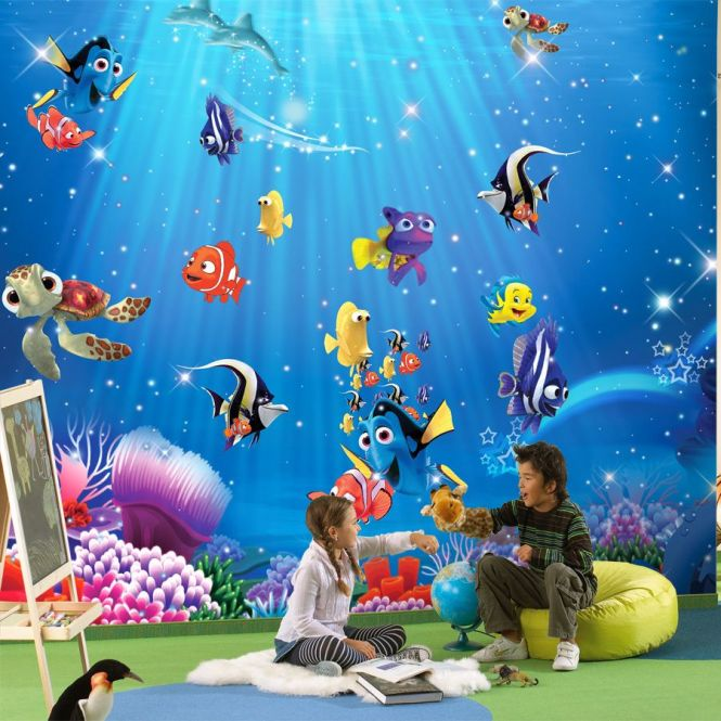 Find More Wallpapers Information About Whole Wall Murals Wallpaper For Baby Kids Room Photo