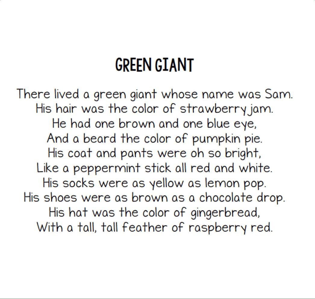 Jack Prelutsky Poems For Kids Visualizing