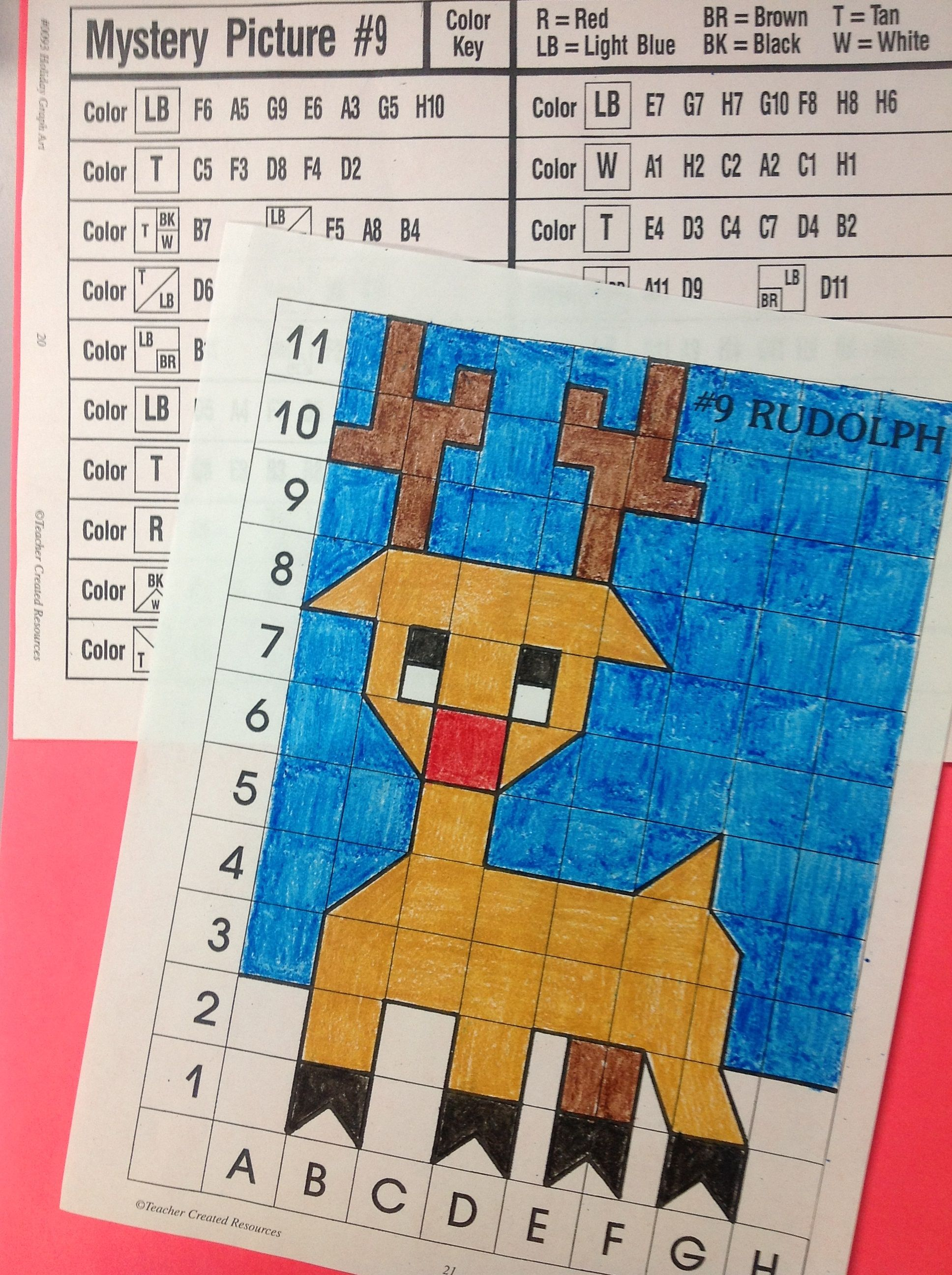 Holiday Graph Art Projects Combine Math With Art
