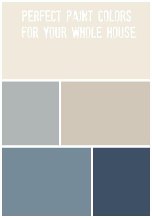 Whole House Paint Palette