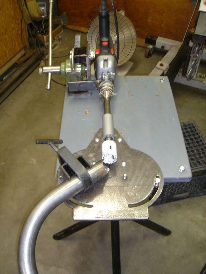 diy pipe bender machine
