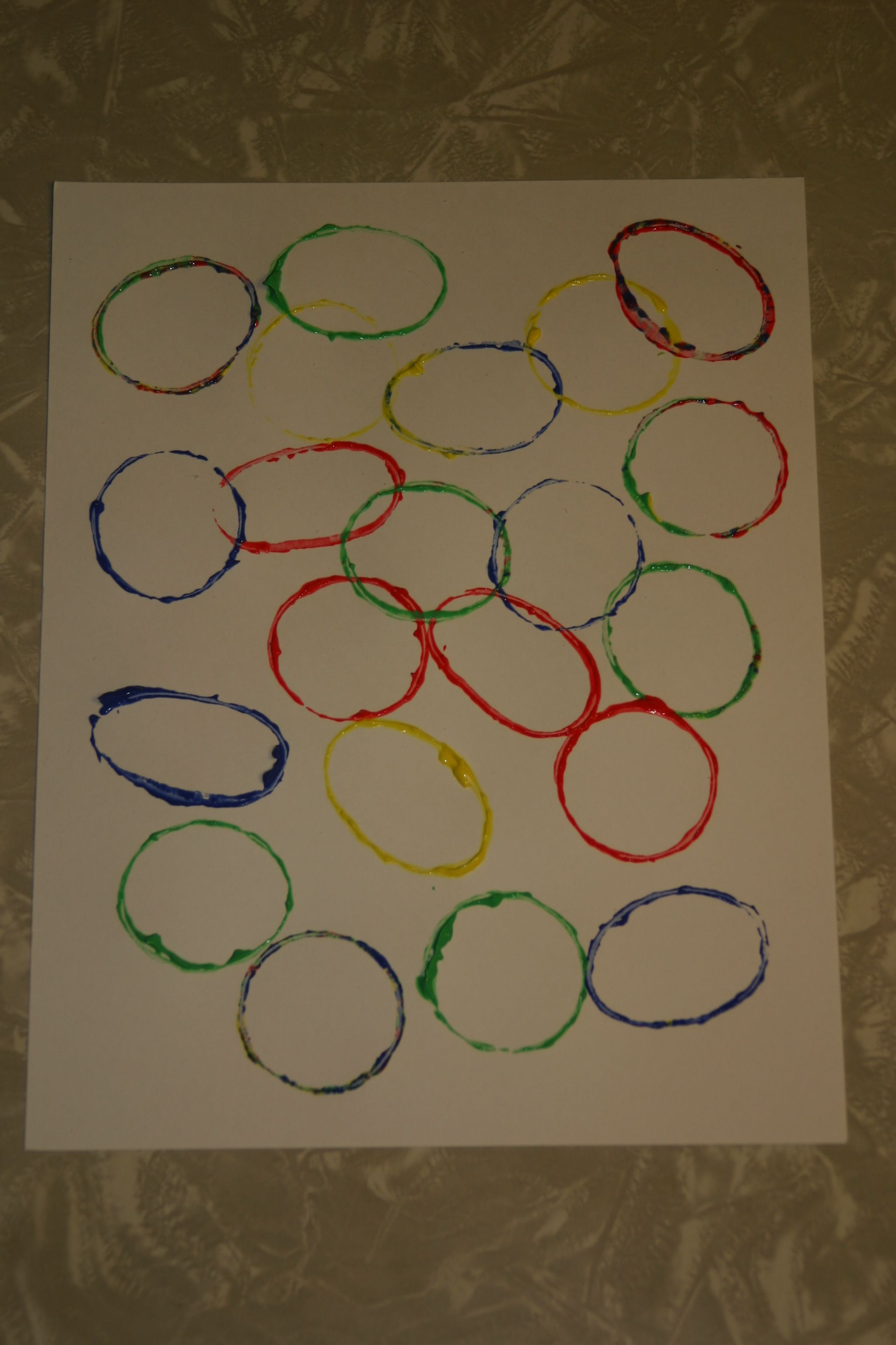 Your Child Will Learn The Relationship Between Circles And Ovals With This Simple Craft