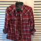 Red flannel and jeans  jachs girlfriend