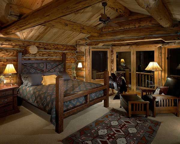 22 inspiring rustic bedroom designs for this winter | rustic