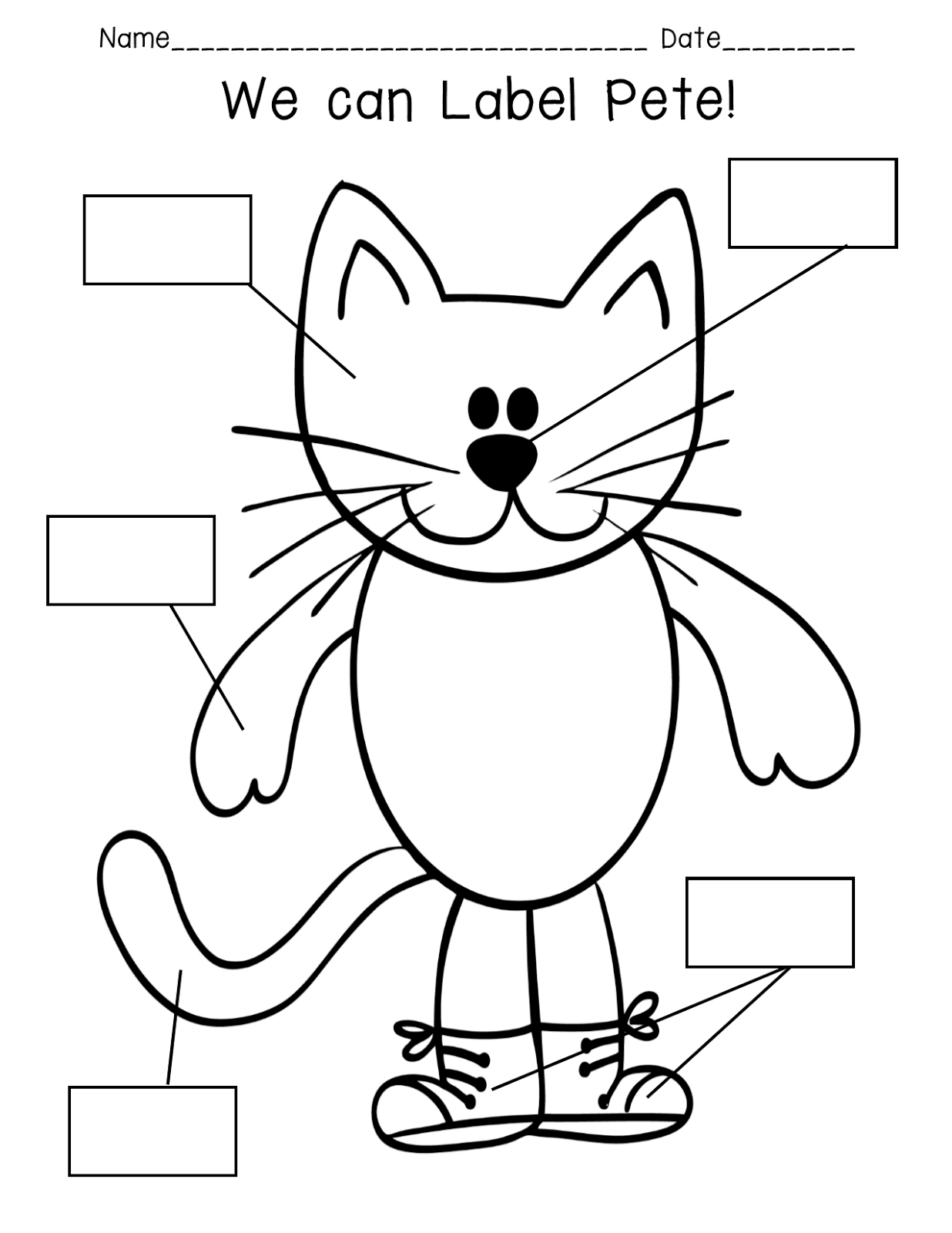 Pride And Primary Pete The Cat Rocking In My School Shoes