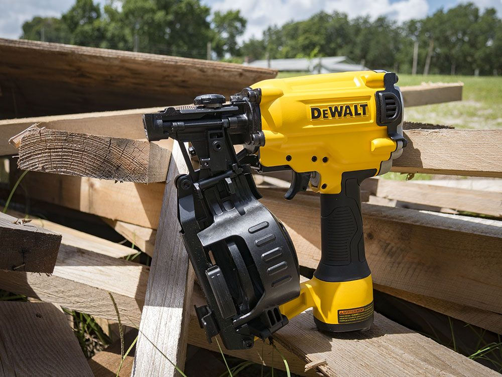 Dewalt dw45rn coil roofing nailer are you ready to nail it