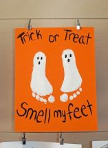 Image result for trick or treat smell my baby feet