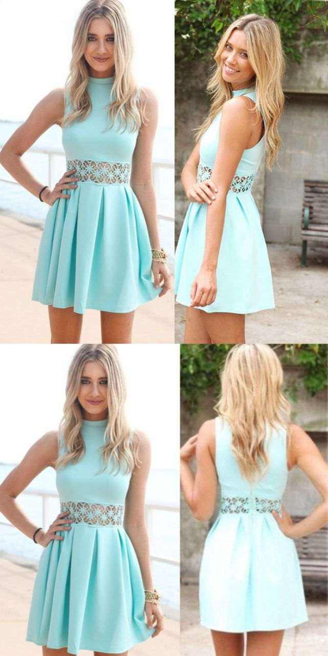 Discount Soft Sleeveless Prom Dresses Blue Sleeveless Prom Dresses