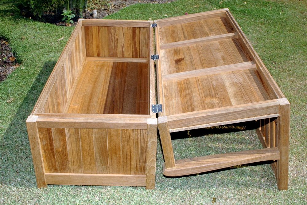 Outdoor Cushion Storage Ideas Outdoor Patio Storage Bench