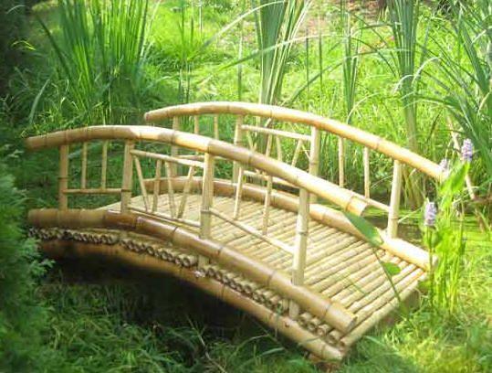 bamboo garden bridge Tiki Bamboo bridge | Pond | Pinterest | Bridge, Bamboo