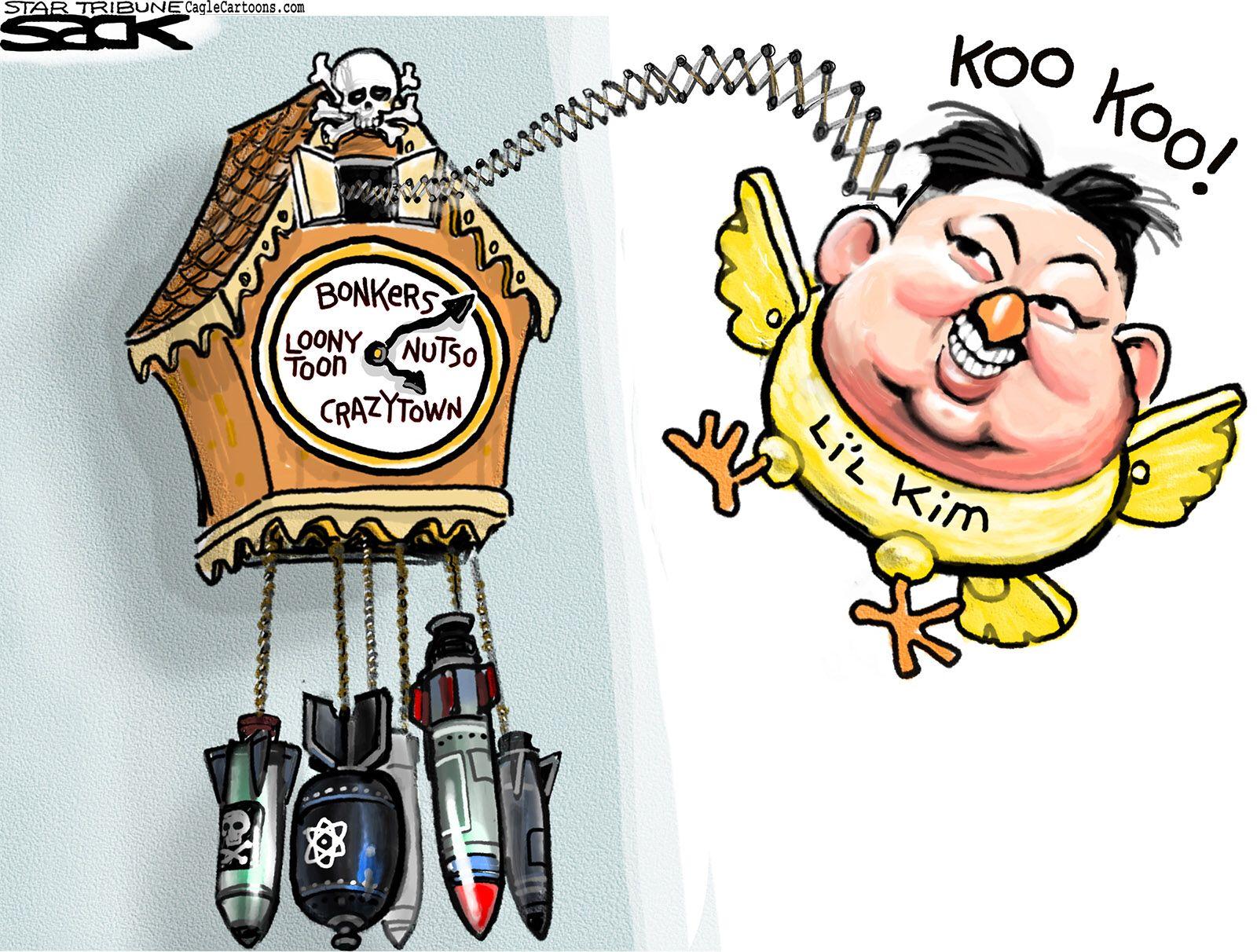 North Korea Editorial Cartoon