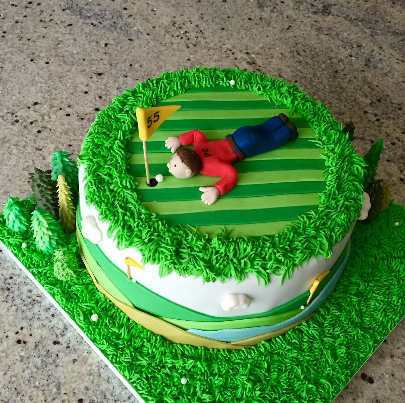 Another Golf Cake With A Sense Of Humour Great Present