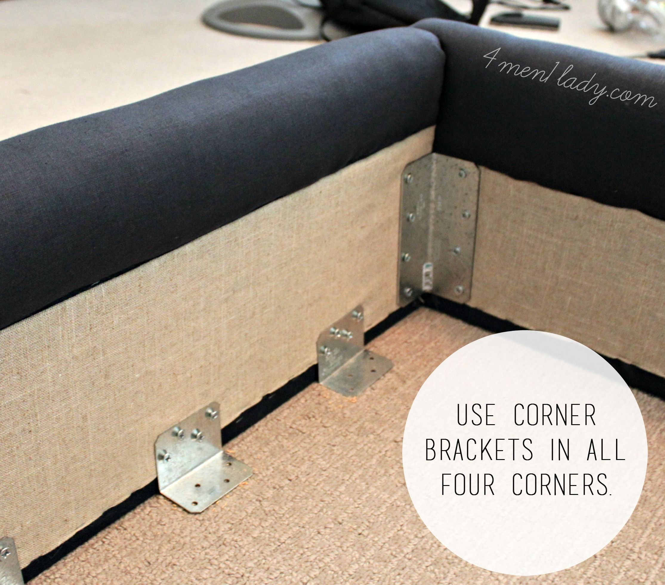 Diy Upholstered Bed Frame To Craft