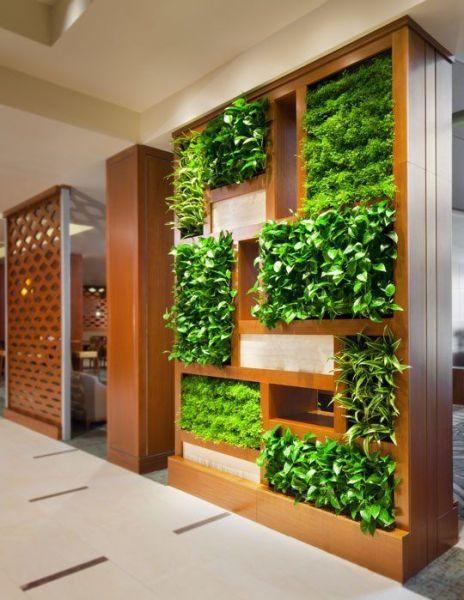 indoor gardens apartment design Most Amazing Living Wall and Vertical Garden Ideas