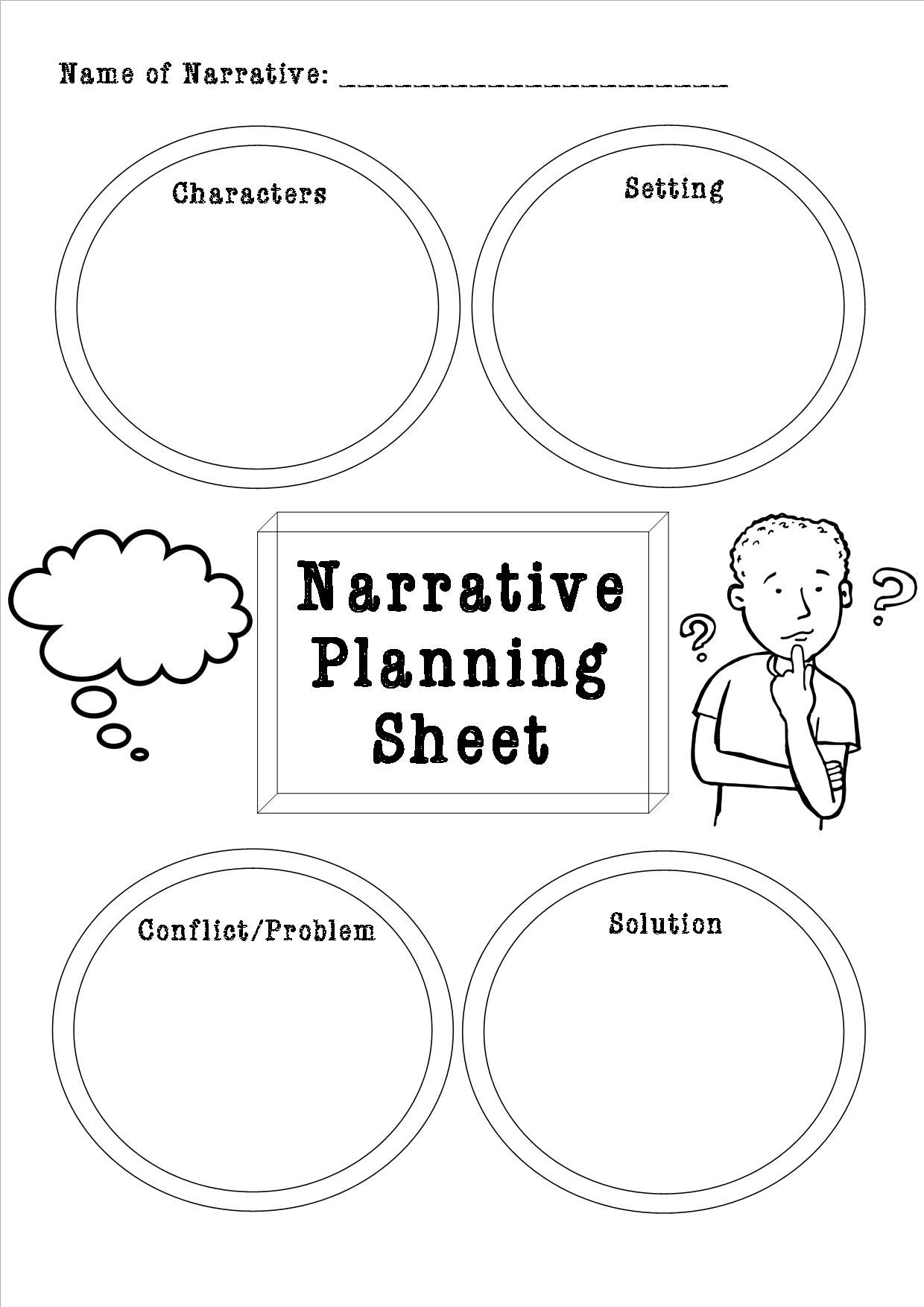 Developing Narrative Writing Skills Unit Plan