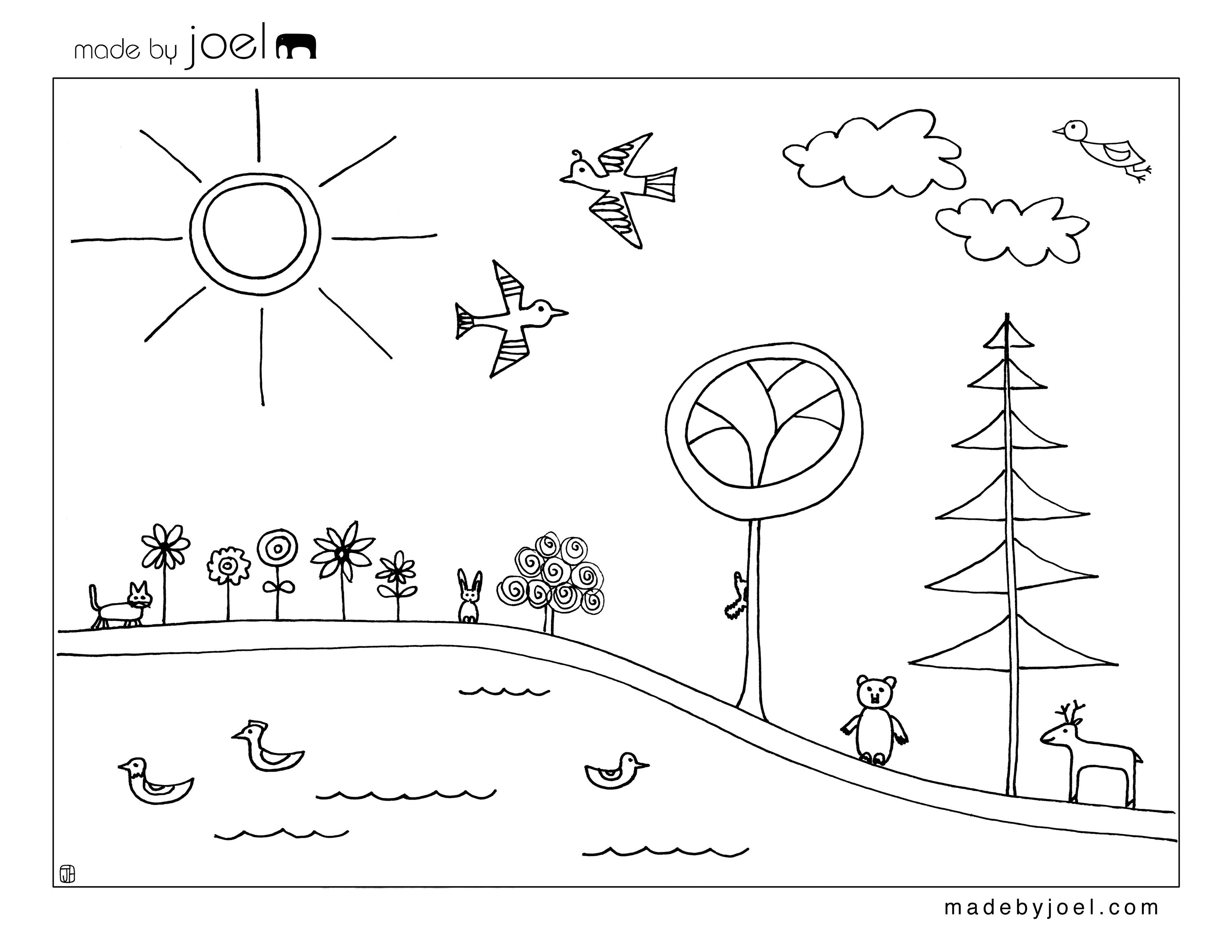 Made By Joel Earth Day Coloring Sheet Printables Kids