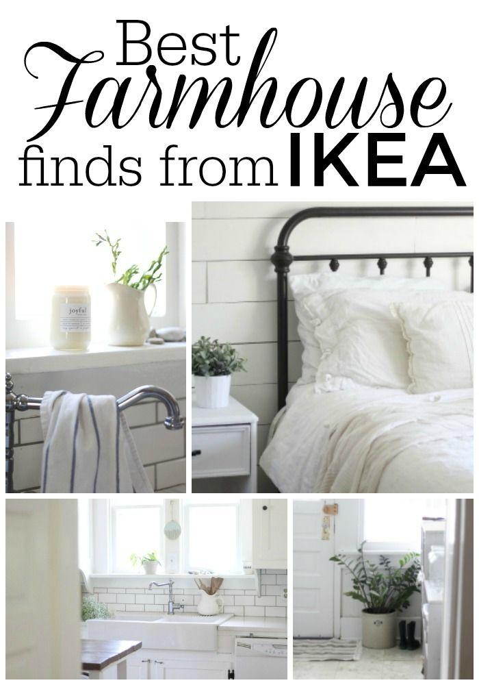 My Favorite Farmhouse Finds From IKEA Farmhouse Ikea