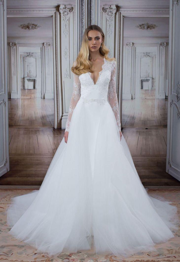 Style no Detachable skirt  Lilyus wedding dress  Pinterest
