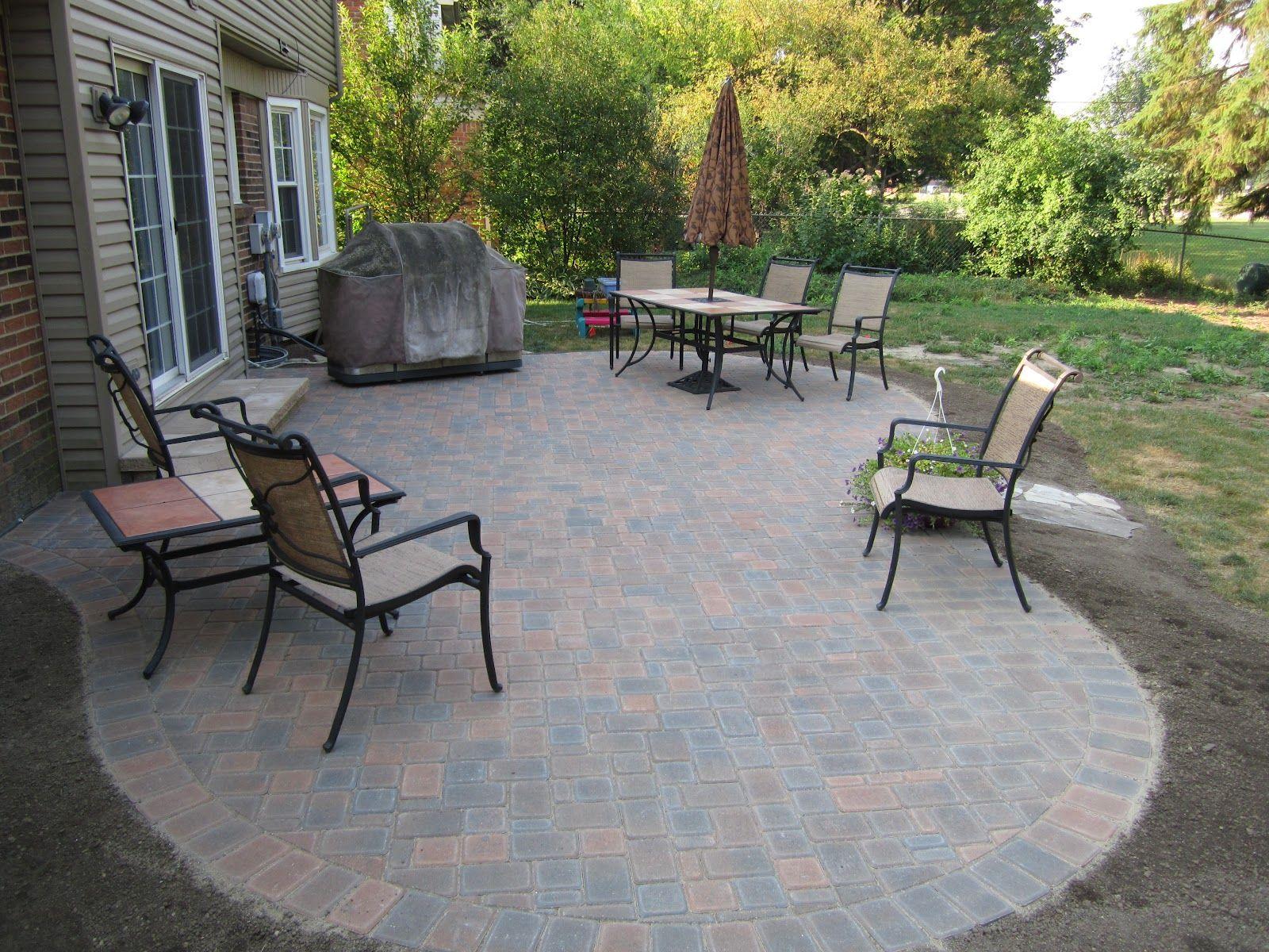 paver stone patio ideas dayboatnyc