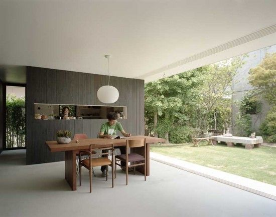Modern Minimalist Japanese House Design- Niwanosumika