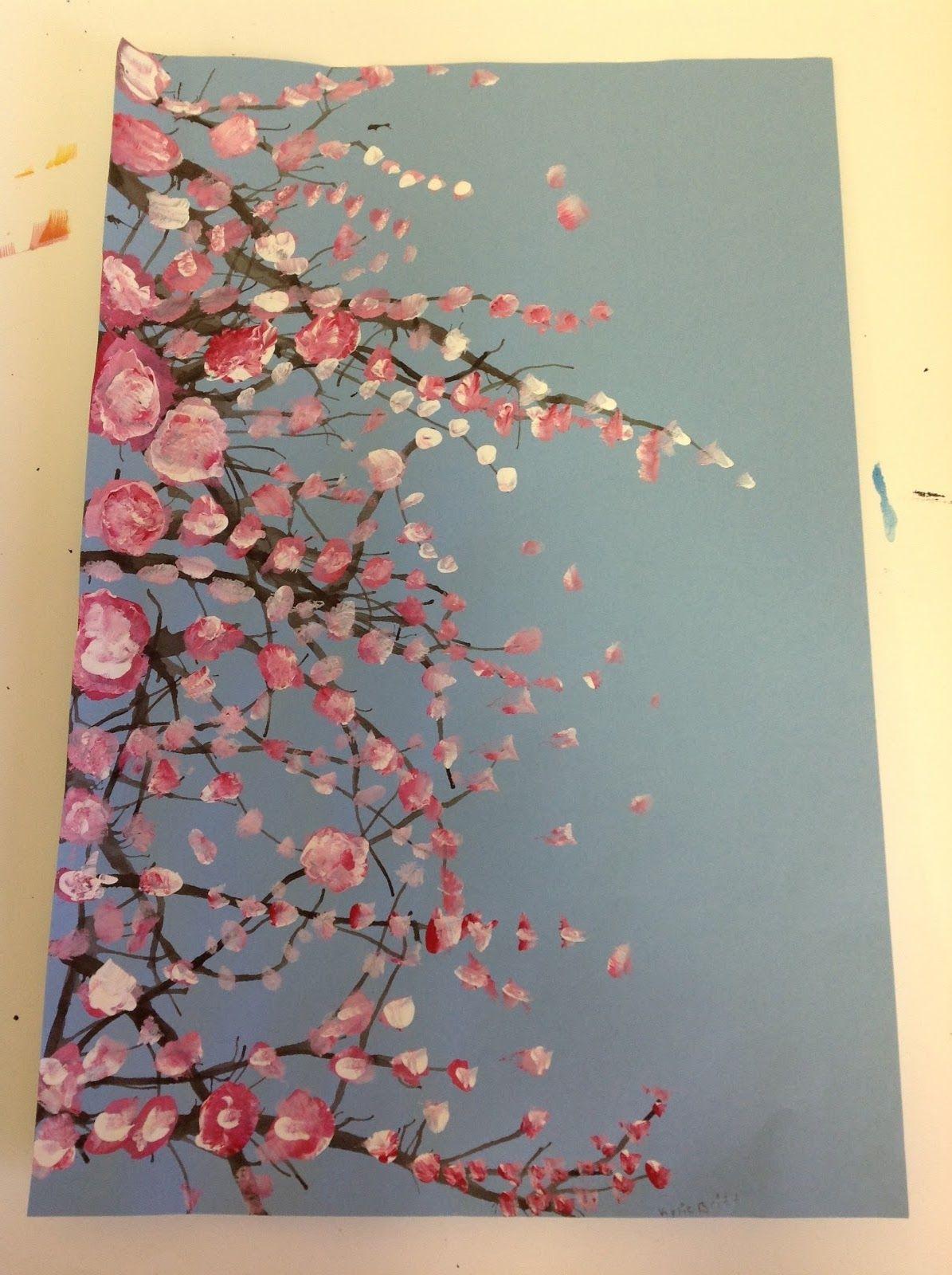 Cherry Blossom Trees Grade 5