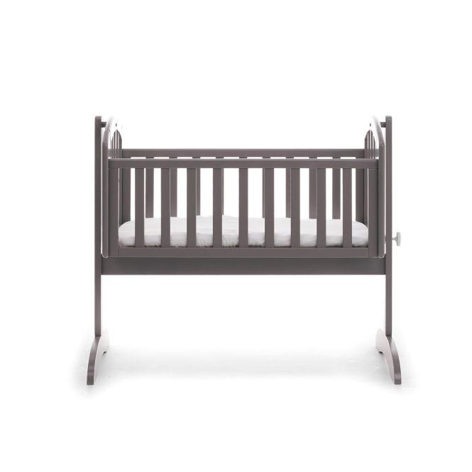 Obaby Sophie Swinging Crib Mattress Taupe Grey