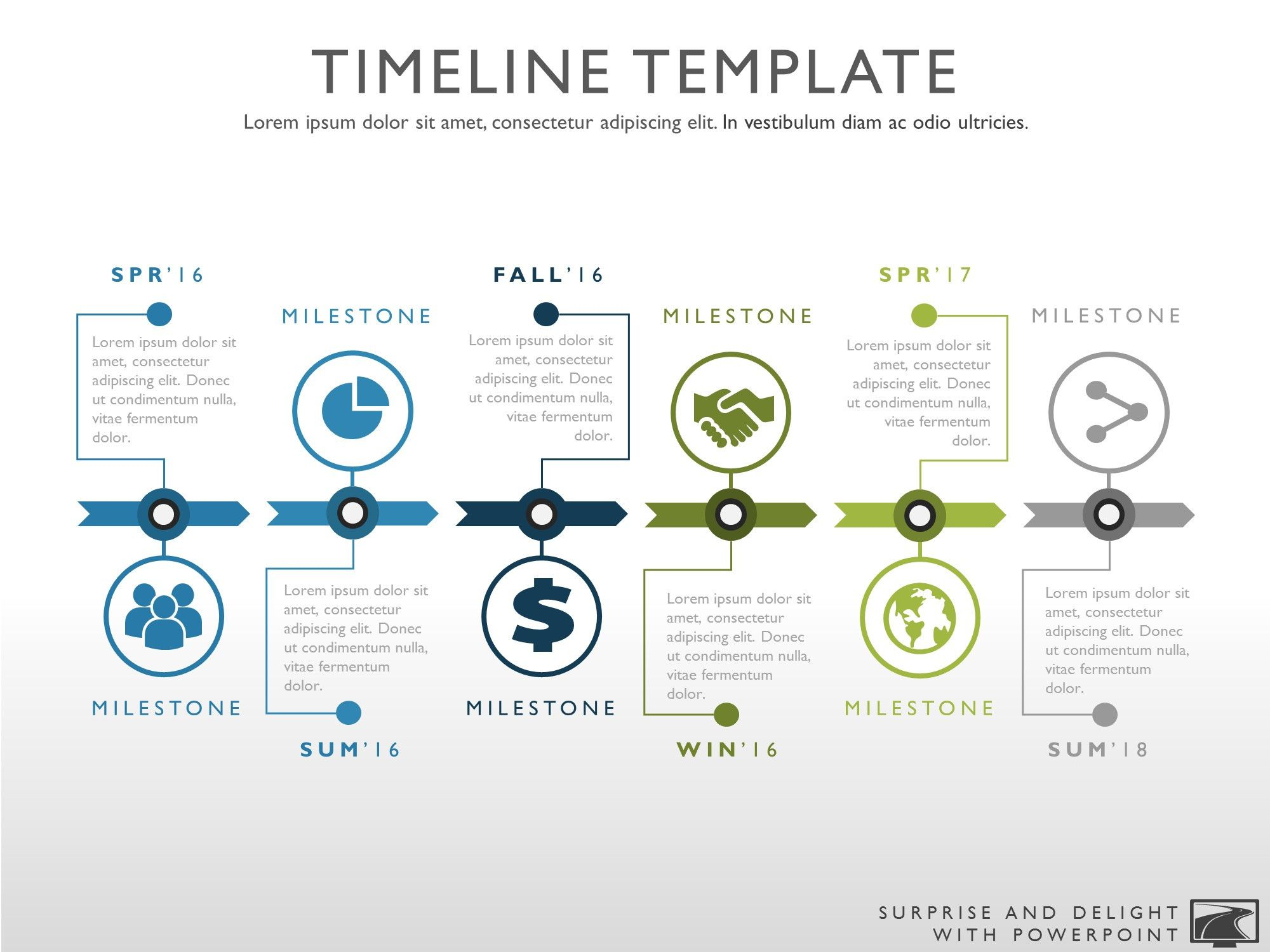 Best 25 Powerpoint Timeline Slide Ideas