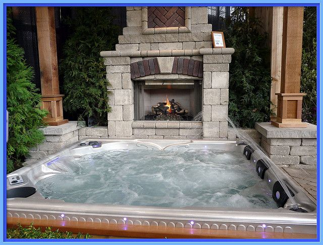 Best 25 Outdoor Hot Tubs Ideas On Pinterest Hot Tub