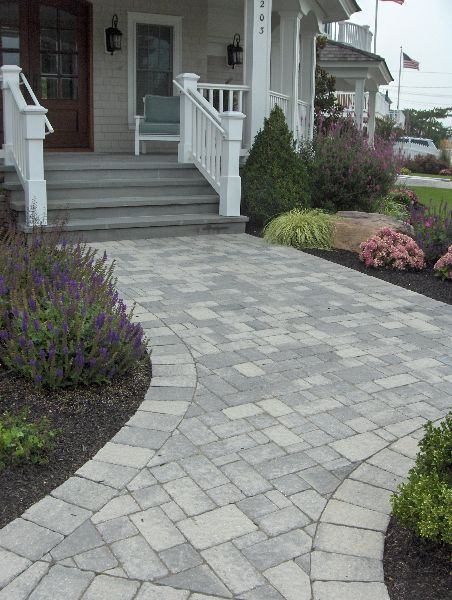 walkway paver patio designs gray paver designs - Google Search | Outdoor Living Space