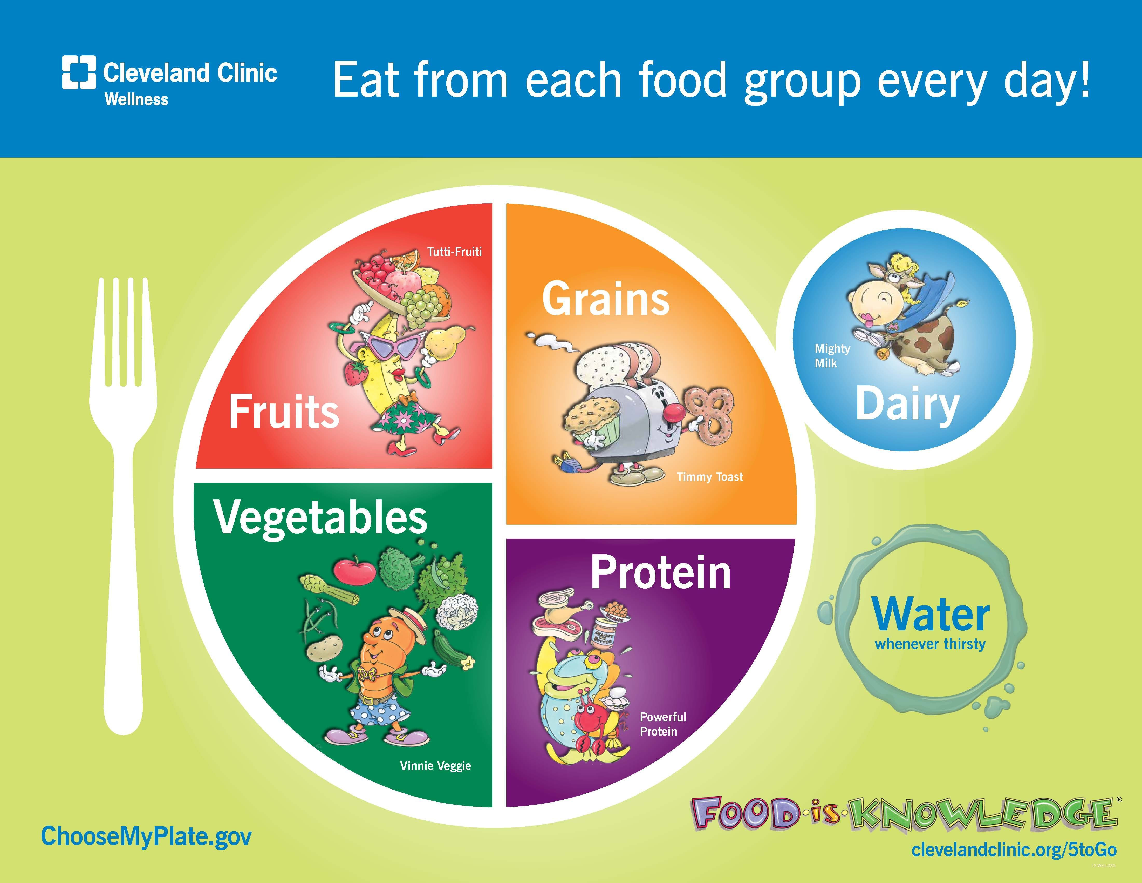 Eat From Each Food Group Every Day