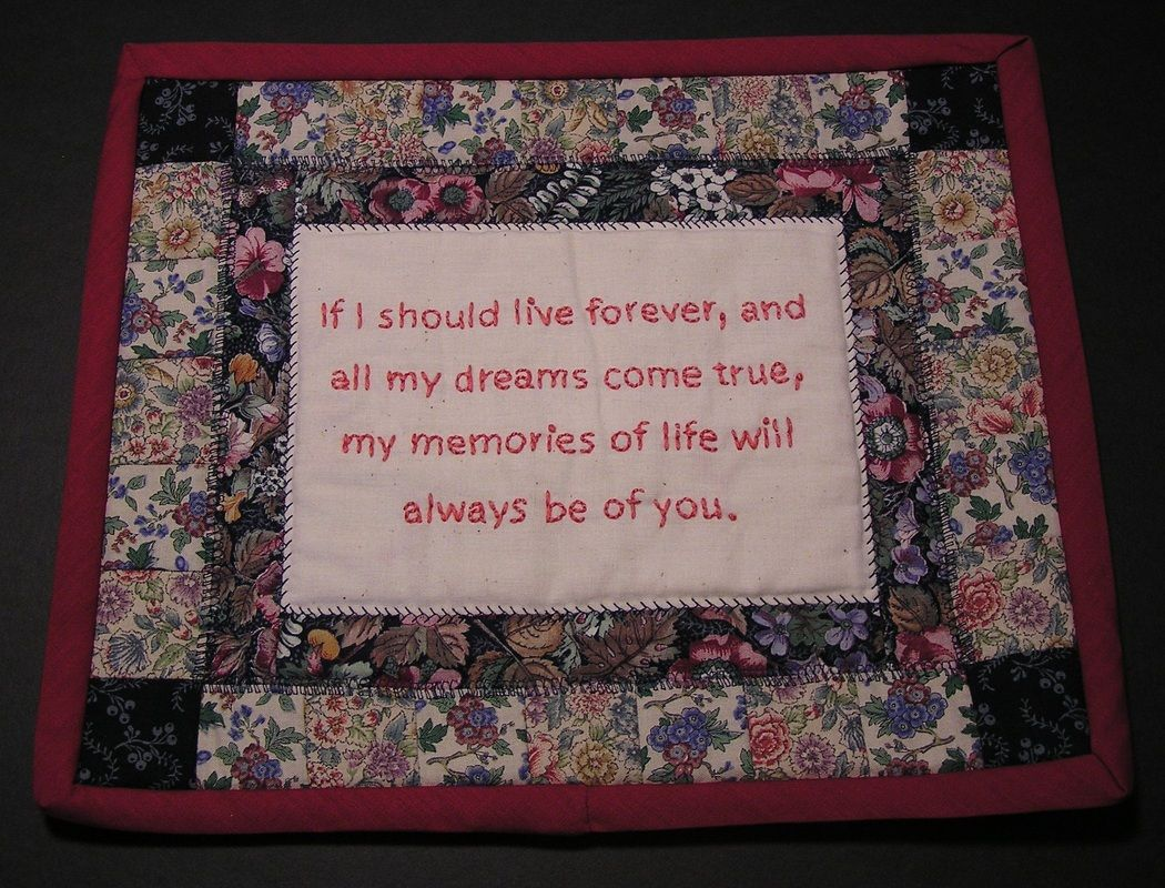 Quilt Labels Sayings