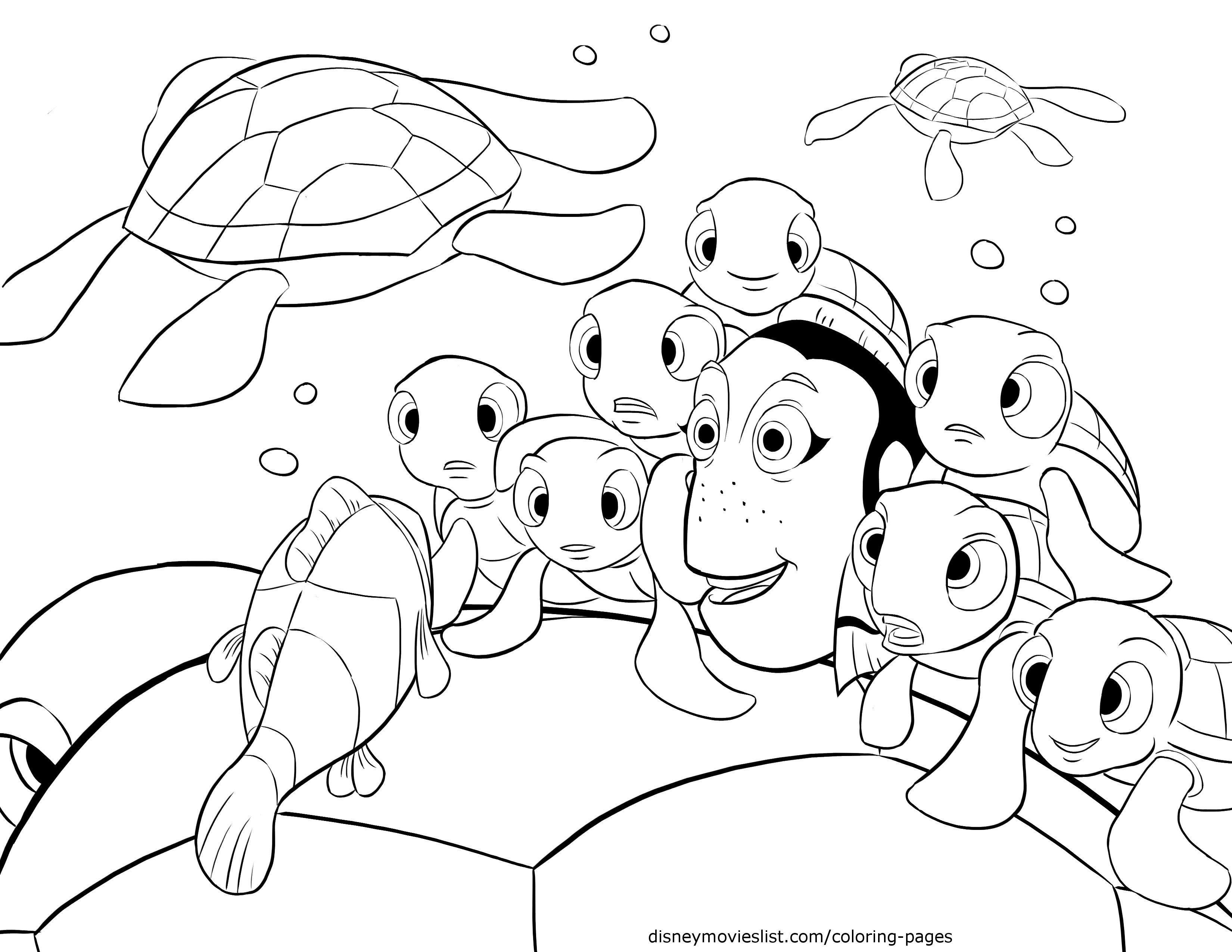 Disney S Finding Nemo Crush Telling Stories