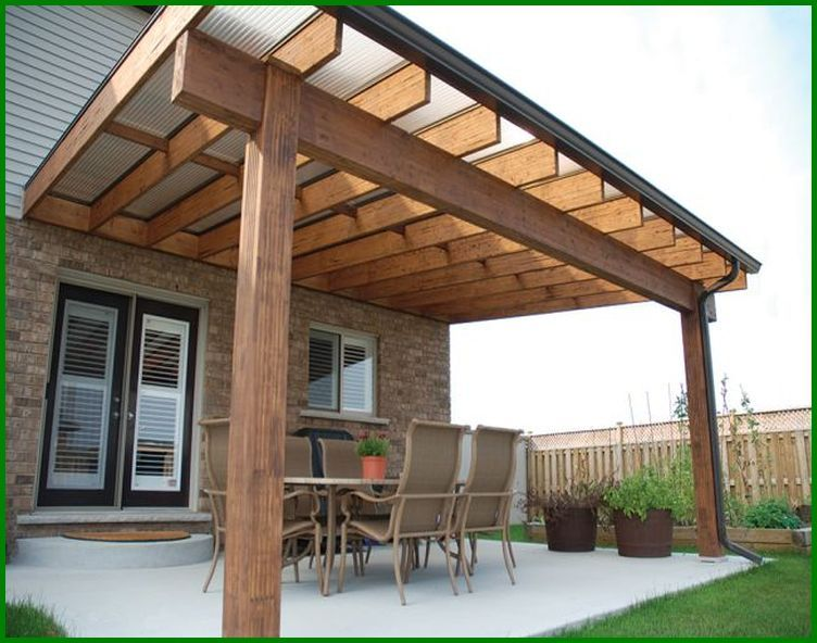 Overhanging Roof Design Ideas | The Expert on Backyard Overhang Ideas  id=92263