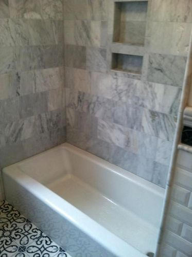 How To Tile A Tub Surround Video - Photo Trend & Ideas
