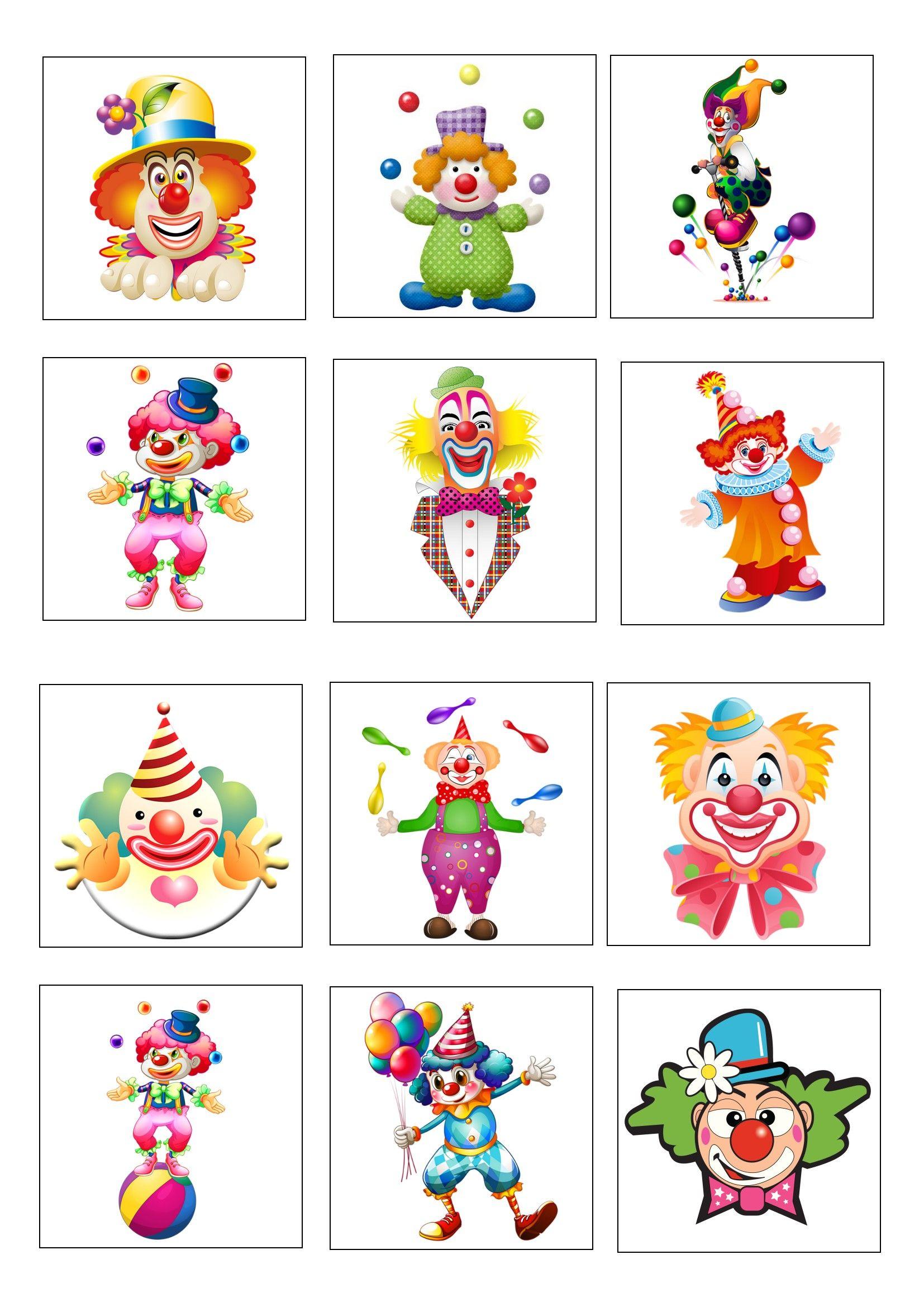 Clowns Tekenen And Met