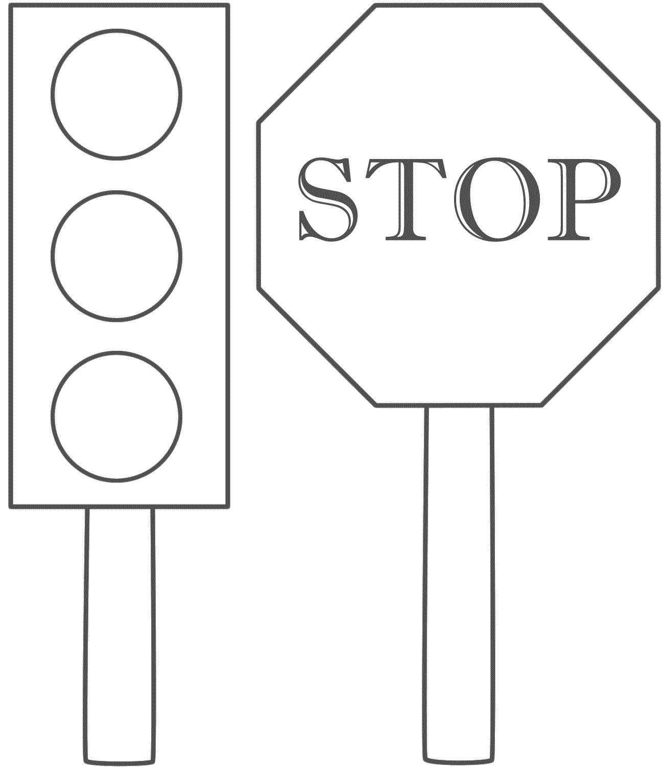 Traffic Light Printable Worksheets