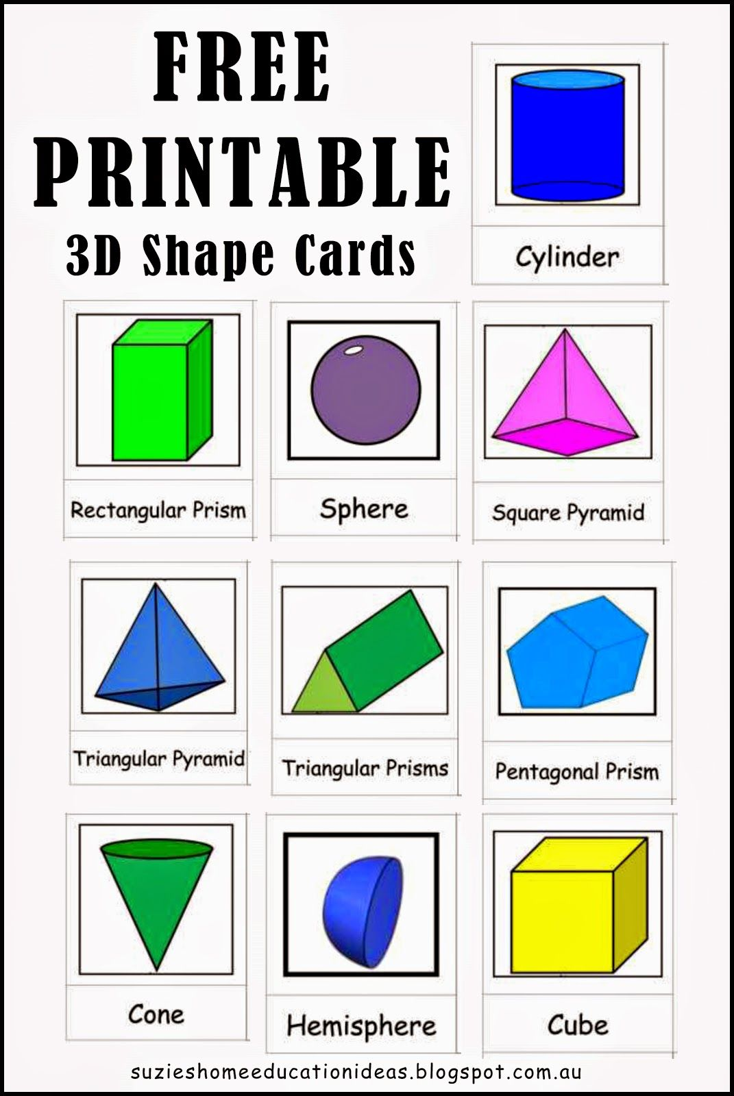 The 25 Best 3d Shapes Names Ideas