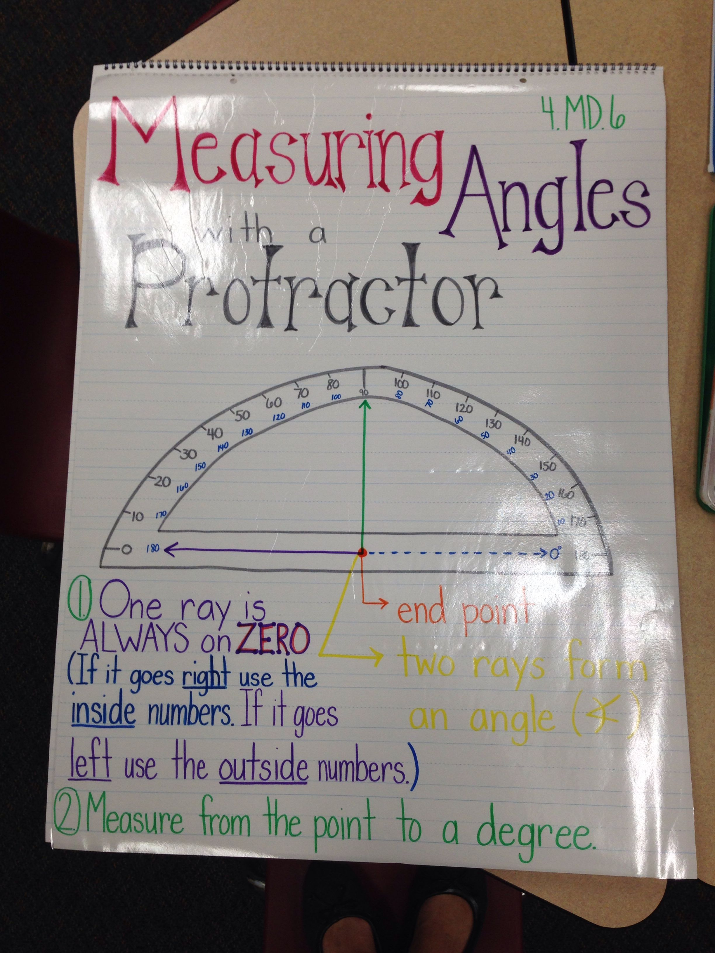 4 7 Drawing Amp Measuring Angles