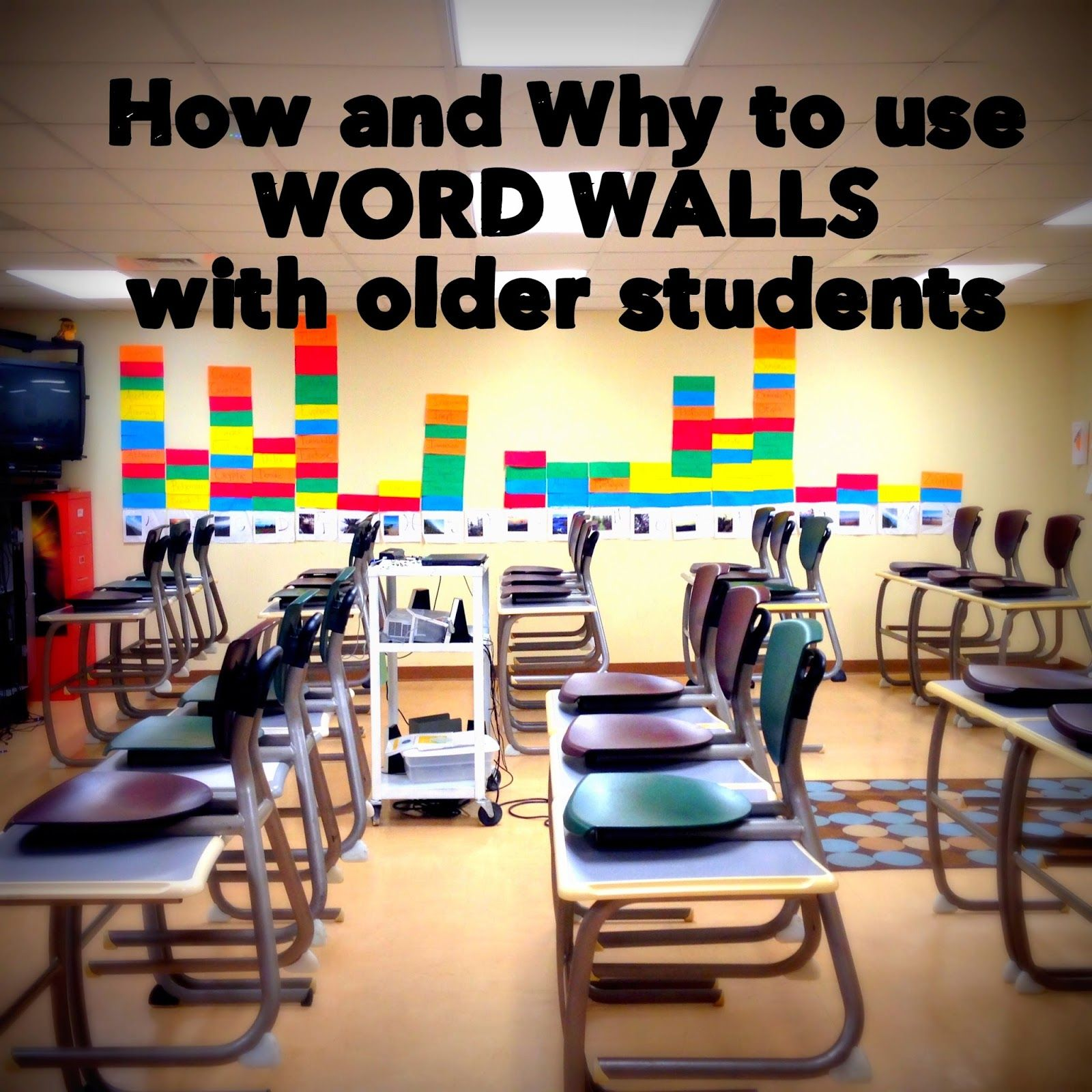 B S Book Love How And Why To Use Word Walls With Older